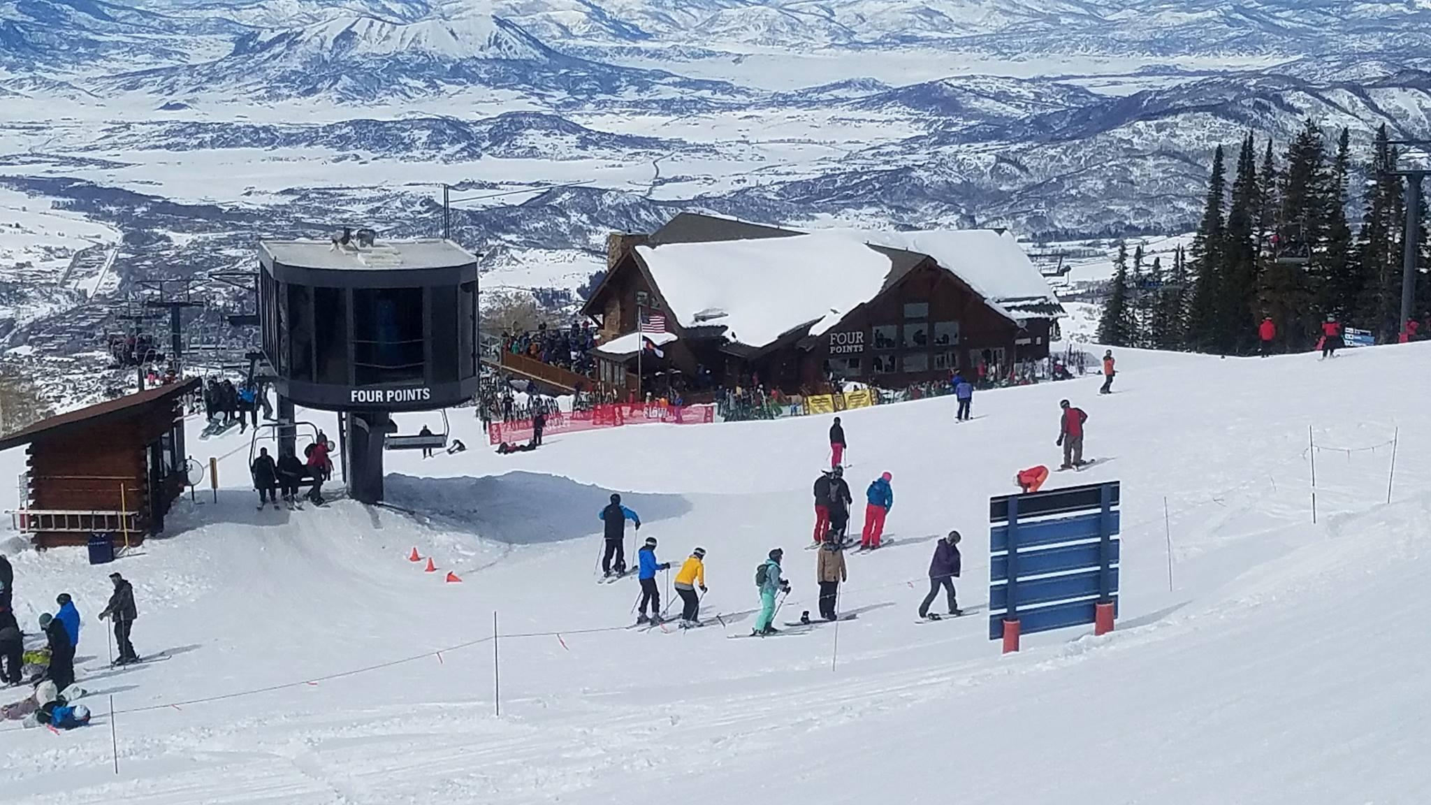 Ski area summit