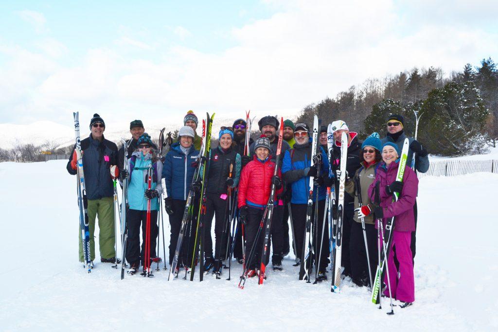 Ski group at Trapp's